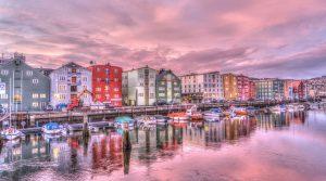 Downtown Trondheim